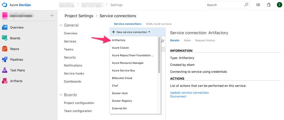 Microsoft's Azure DevOps (TFS, VSTS) — conan 1 12 3 documentation